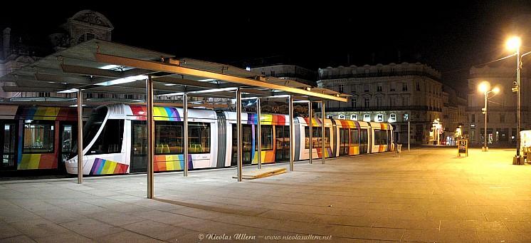 Angers, le Tram en expo