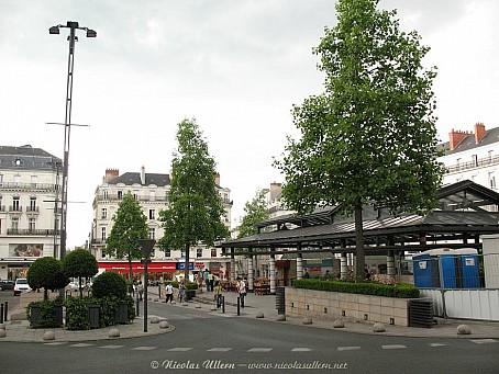 Angers, ancienne Place du Ralliement