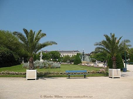 Angers, la Jardin du Mail