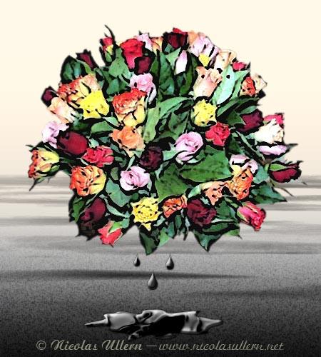 L'Arc-en-ciel des Roses devint Noir