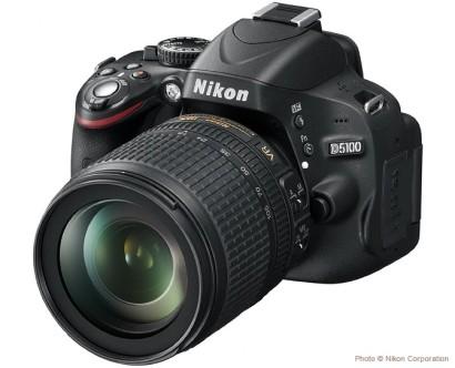 Nikon D5100, de face