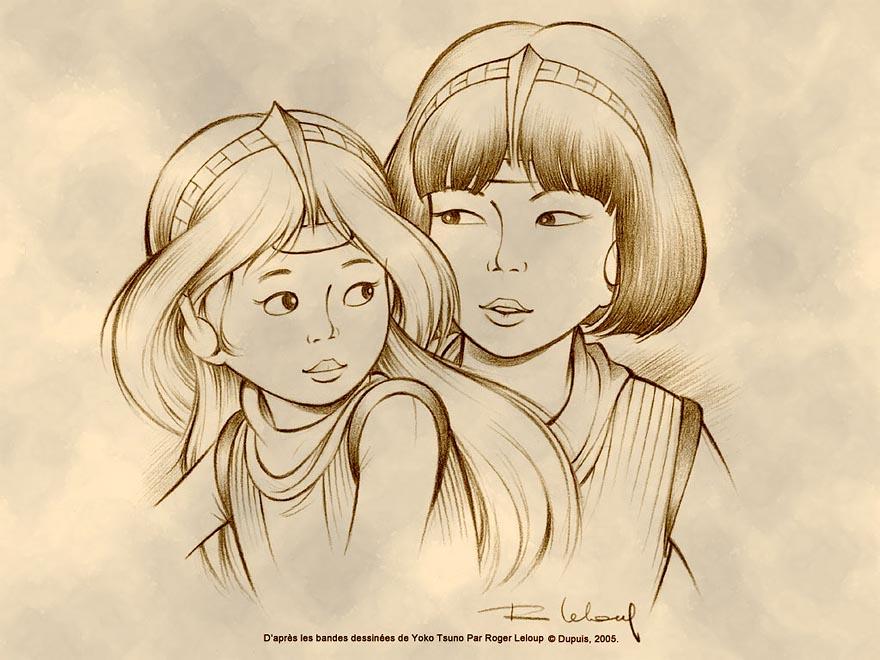 Yoko et Poky