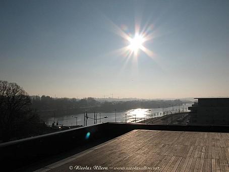 Angers, Le Quai, la terrasse