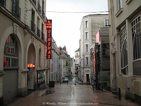 Angers, le cinéma Les 400 Coups sous la pluie