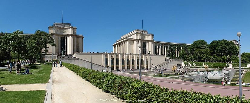 Paris, le Palais du Trocadéro