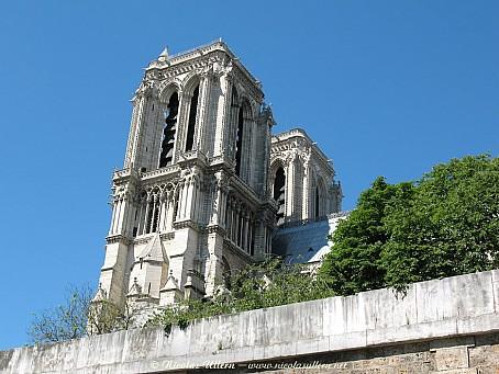 Paris, cathédrale Notre-Dame
